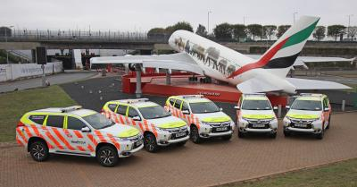 Heathrow Airport Chooses The Mitsubishi Shogun Sport For Its Landside Operations Team