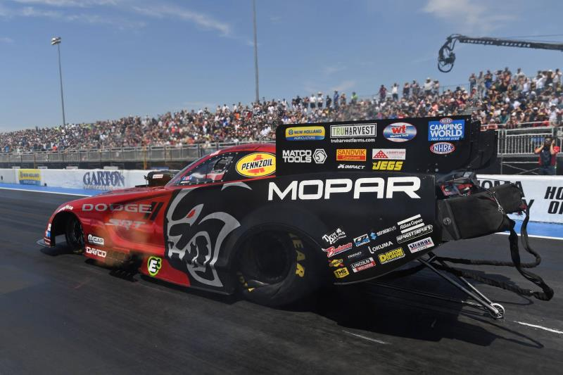 Runner-Up Finishes for HEMI®-powered DSR pilots Hagan and Pruett at the NHRA Sonoma Nationals