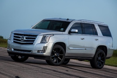 Introducing the 2015 Hennessey HPE550 Supercharged Escalade