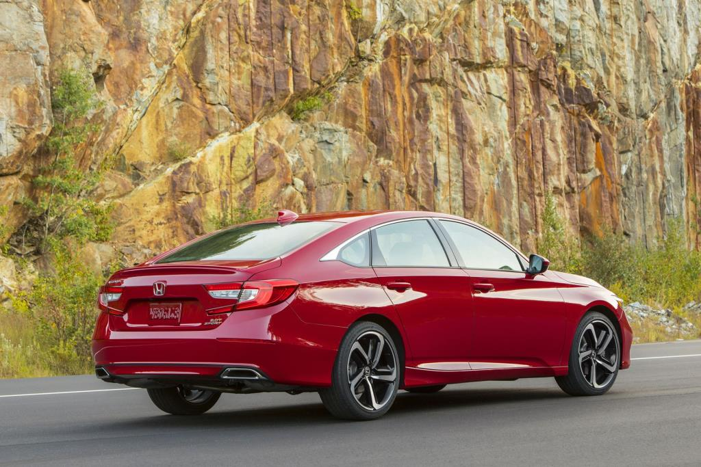 Going On Sale: Award-Winning Honda Accord Remains The Midsize Sedan Standout For 2019