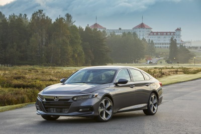 All-New Honda Accord, Odyssey And Fit Achieve Top Retained Value Ratings From ALG