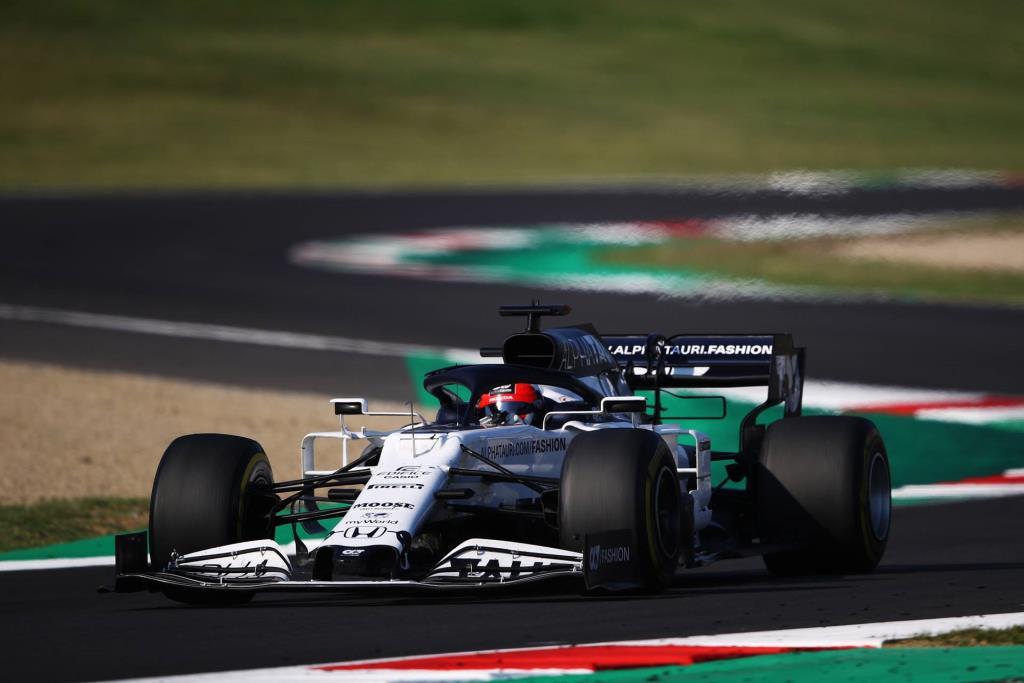 Honda's Alex Albon Scores First F1 Podium Finish