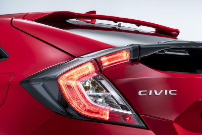 HONDA TO UNVEIL CIVIC HATCHBACK AT PARIS MOTOR SHOW 2016