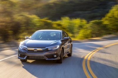 CIVIC AND HR-V PLACE FIRST AND SECOND WITH CR-V ALSO HIGHLY RANKED IN KELLEY BLUE BOOK '10 MOST AWARDED CARS OF 2016'