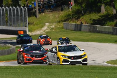 Honda Civic Racers Dominate Road America With A Four-Win Weekend