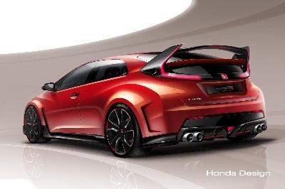 Honda Civic Type R Concept Model set for Worldwide Debut at the 2014 Geneva Motor Show