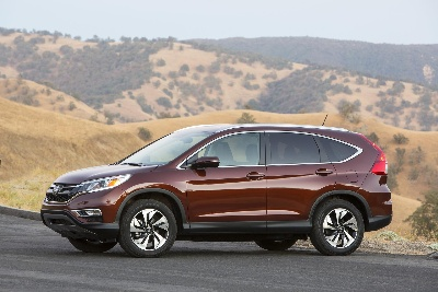 2015 HONDA CR-V EARNS A 2015 TOP SAFETY PICK+ RATING FROM THE INSURANCE INSTITUTE FOR HIGHWAY SAFETY