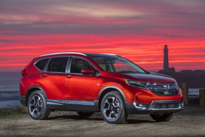 Honda CR-V And Ridgeline J.D. Power & Associates '2017 Apeal Award' Winners