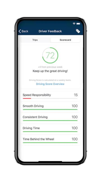 All-New Driver Feedback Feature Designed To Encourage Better, More Fuel-Efficient Driving Techniques