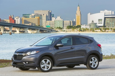 HONDA HR-V NAMED '2016 GREEN SUV OF THE YEAR' BY GREEN CAR JOURNAL