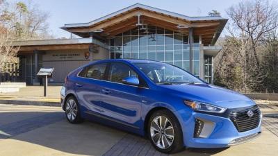 Hyundai Donates Fuel-Efficient Ioniqs To The National Park Service