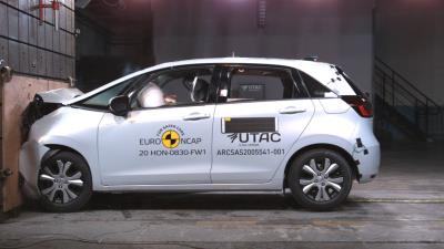 New Honda Jazz e:HEV Scores Top Marks Under Tough New Euro NCAP Standards