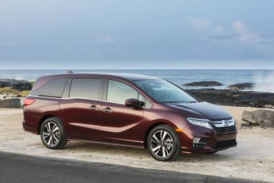 Honda Celebrates 25 Years Of Odyssey With 25Th Anniversary Accessory Package And 10-Speed Automatic Transmission
