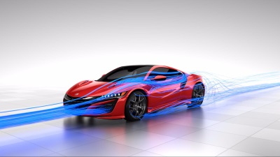 HONDA'S THOMAS RAMSAY LIFTS THE LID ON NSX 'TOTAL AIRFLOW MANAGEMENT' CONCEPT