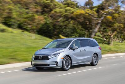 2021 Honda Odyssey Earns IIHS Top Safety Pick+ Rating
