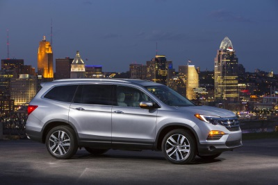 2016 HONDA PILOT ACHIEVES TOP 5-STAR OVERALL SAFETY SCORE FROM THE NATIONAL HIGHWAY TRAFFIC SAFETY ADMINISTRATION