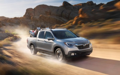 2017 HONDA RIDGELINE IS THE FIRST AND ONLY PICKUP TRUCK TO EARN TOP SAFETY PICK+ RATING FROM IIHS