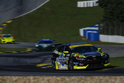 Podium Finish For Honda At Road Atlanta