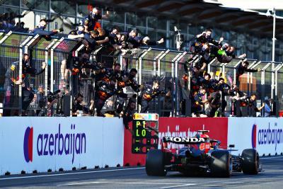 Honda's Sergio Perez Wins F1 Azerbaijan GP