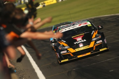 Honda Hero Shedden Aiming For Home Win