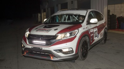 Honda UK And Mission Motorsport Create First Ever CR-V Diesel Race Car For Race Of Remembrance