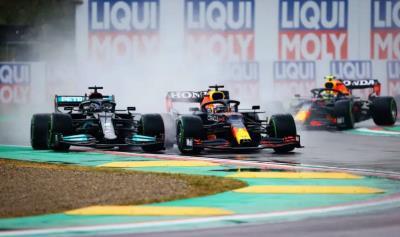 Honda, Verstappen Score First F1 Victory of 2021