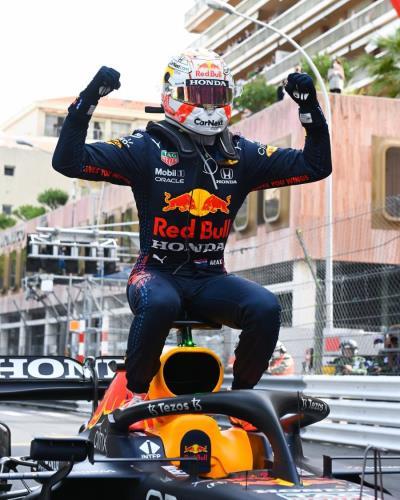 Honda's Verstappen Wins Monaco, Leads F1 Championship
