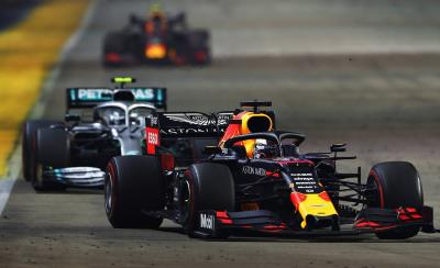 Honda's Verstappen On Podium In Singapore