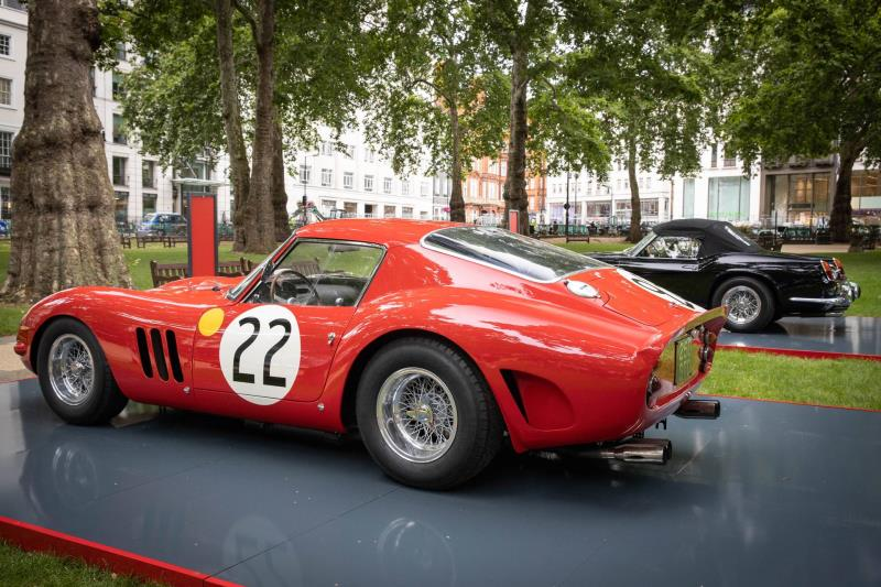 H.R. Owen Ferrari Opens New Showroom In Berkeley Square, Mayfair, London