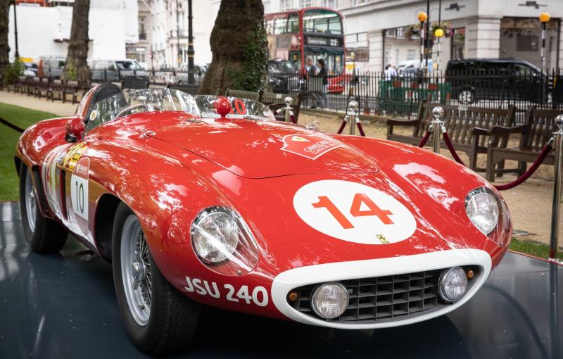 H.R. Owen Ferrari Opens New Showroom In Berkeley Square, Mayfair, London