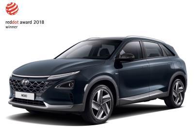 All-New Hyundai Nexo And Hyundai Kona Honored With Prestigious Red Dot Award