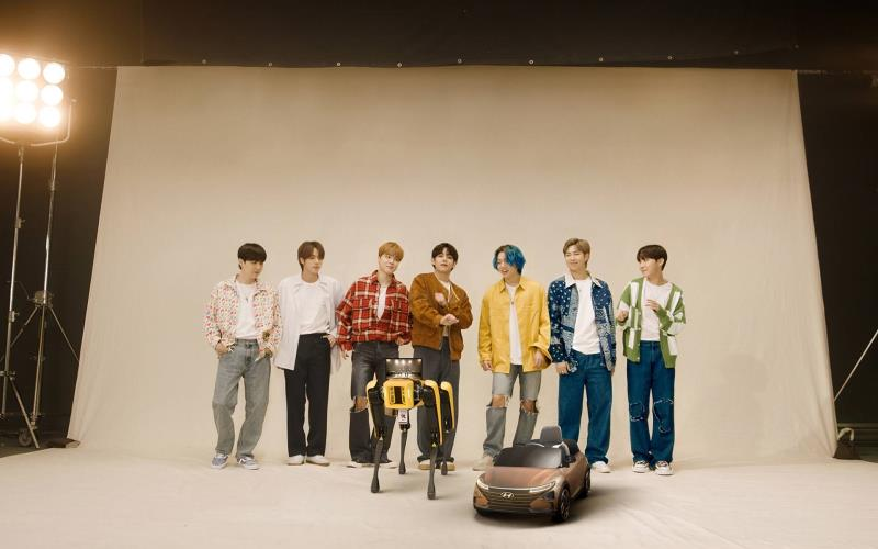 Hyundai Motor Welcomes Boston Dynamics to 'the Family' with Special Video Showing BTS Dancing with Robots
