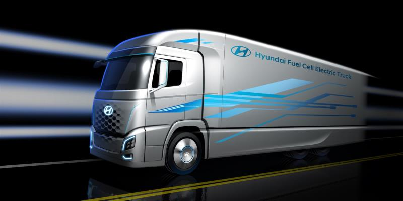 Hyundai Motor Presents First Look At New Truck With A Fuel Cell Powertrain, Ahead Of IAA CV 2018 Announcement