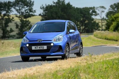 Hyundai I10 Triumphs As Used Small Car Of The Year At Car Dealer