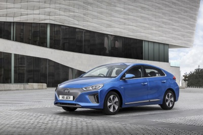 Driving The Future - Hyundai Ioniq Electric Is Professional Driver'S 'Green Car Of The Year'