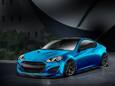 Hyundai And J. Pangilinan Link Up Again To Create Atlantis Blue JP Edition Genesis Coupe For SEMA Show