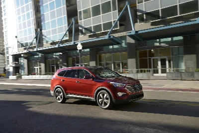 HYUNDAI SANTA FE NAMED 2013 'CUV OF TEXAS'