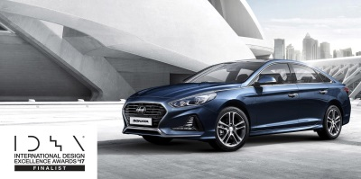 Hyundai Sonata And Elantra GT Named Finalists In The 2017 International Design Excellence Awards