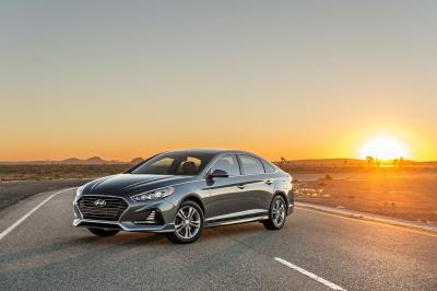 The 2018 Sonata Earns Highest Safety Rating By Iihs