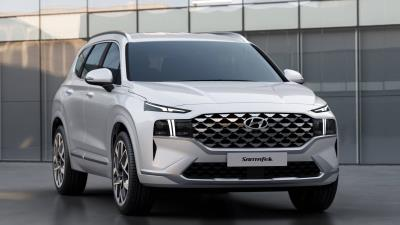 2021 Hyundai Santa Fe Adds Innovative Design, Powertrain And Driver Convenience Technologies