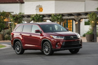 IIHS Top Safety Pick+ Award Comes Standard on the 2017 Toyota Highlander