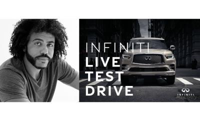 Infiniti And Daveed Diggs Reimagine Winter Sales Event With Instagram Live Test Drive
