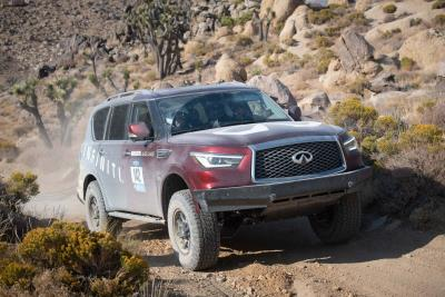 Infiniti Caps First Rebelle Rally With Successful Run In Challenging Off-Road Navigational Competition
