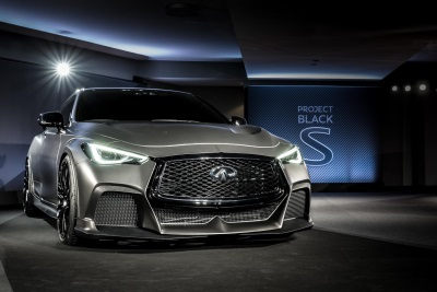 Infiniti And Pirelli Announce 'Project Black S' Partnership At The Canadian GP