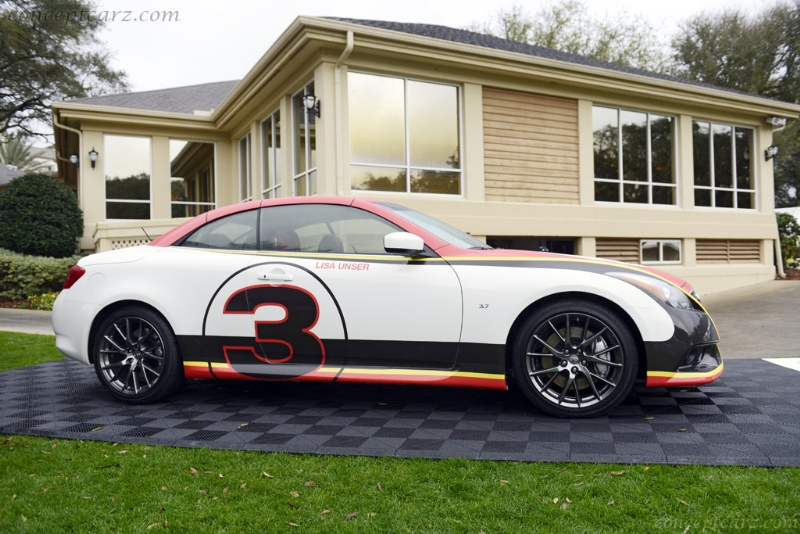 BOBBY UNSER INSPIRED INFINITI Q60 DEBUTS AT AMELIA ISLAND CONCOURS