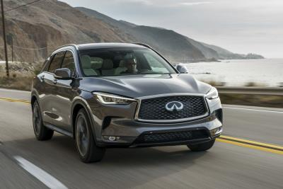 2019 Infiniti QX50 Leads 122Nd Annual Boston Marathon As Official Pace Vehicle