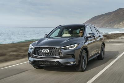 New Infiniti QX50 Named To Wards 10 Best Interiors List For 2018