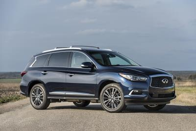 Infiniti QX60 And QX80 Named Among Winners In Kelley Blue Book's 5-Year Cost To Own Awards