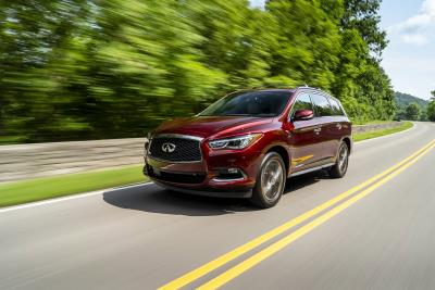Infiniti QX60 And QX80 Win 2019 Kelley Blue Book 5-Year Cost To Own Awards