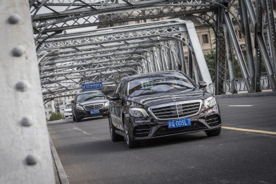 Second Leg Of The 'Intelligent World Drive': On The Road To Autonomous Driving: Mercedes-Benz On Automated Test Drive In The Shanghai Megalopolis